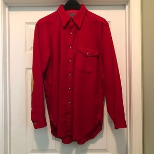 Vintage MINT Condition Pendleton Shirt Elbow Patch